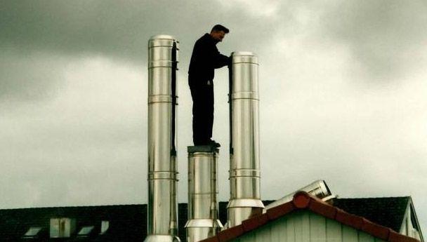 Unsere Edelstahlschornsteine für das Heizkraftwerk in Calw-Heumaden