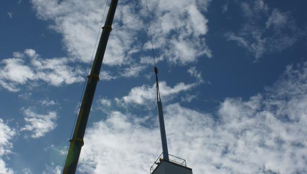Fischerwerke Tumlingen - Sanierung der Schornsteinzüge mit einteilig geschweißen Abgasleitungen mit jeweils 28m Länge