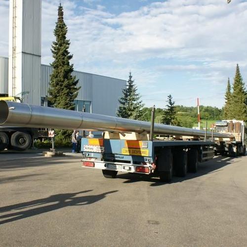 30m lange Abgasleitungen, bereit für den Einbau! (Fischerwerke Tumlingen)