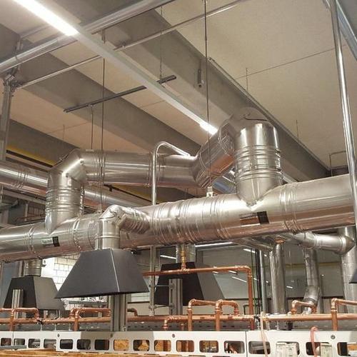 Abluftanlagen für Gasgeräte-Prüfstände