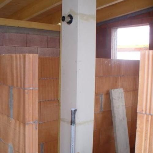 Anschluß für die Gas-Brennwert-Therme in LAS Bauweise, Ort: Holzgerlingen